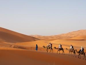 A tavola con i berberi